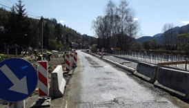 Czytaj więcej o: Trwa modernizacja drogi powiatowej Krościenko – Szczawnica (zdjęcia)